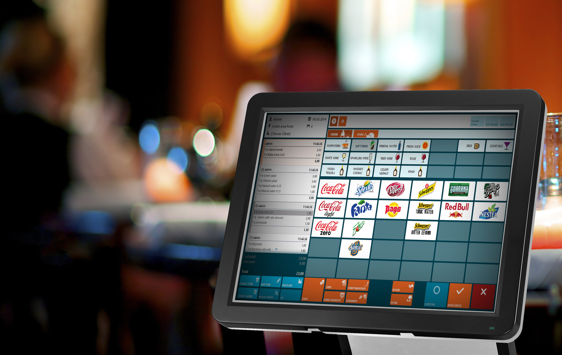 Garson POS Fast And Intuitive Point Of Sale Applications - Restaurant table management system